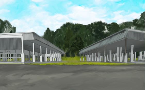 大屋根ガーデン YAHHO